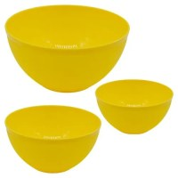 Buy Swastik Mixing Bowl Set - Microwave Friendly, Plastic ...