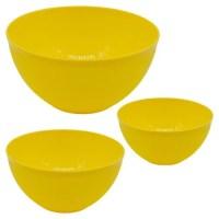 Buy Swastik Mixing Bowl Set - Microwave Friendly, Plastic ...