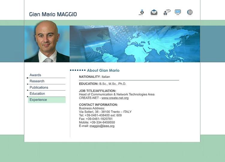 Personal Website Resume Examples molde original do cvresumo cards