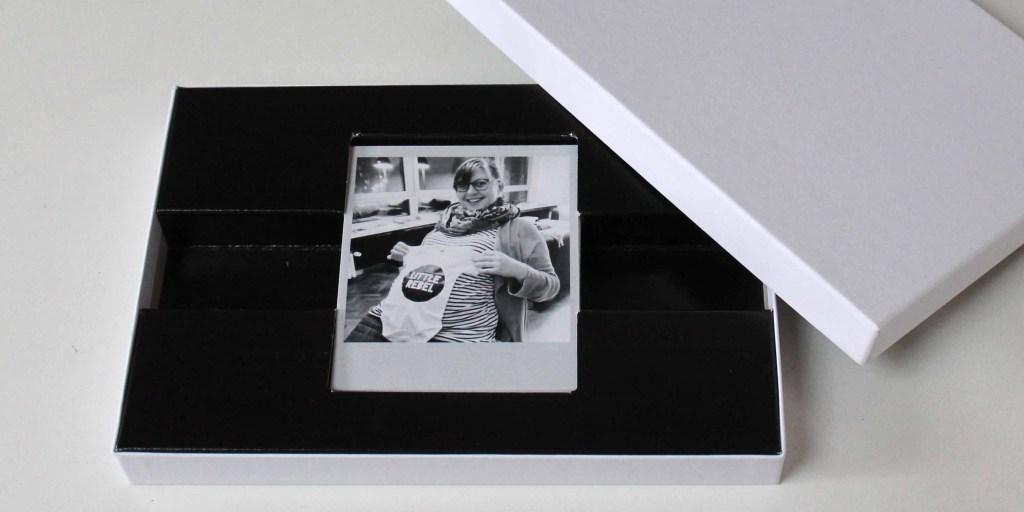 polaroid foto's doos