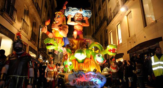 carnaval de nantes nuit 2016