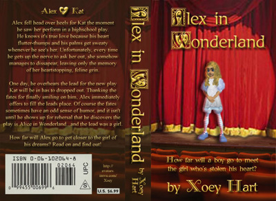 Alex In Wonderland Book Cover Bigcloset Topshelf