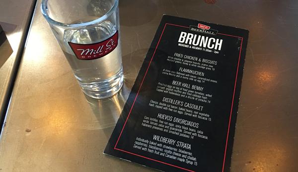 mill street lunch menu