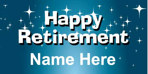 Birthday Wallpaper With Quotes For Brother Retirement Banner Blue
