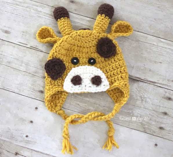 Baby Giraffe Hat Knitting Pattern : 41 Adorable Crochet Baby Hats & Patterns to Make - Big DIY ...