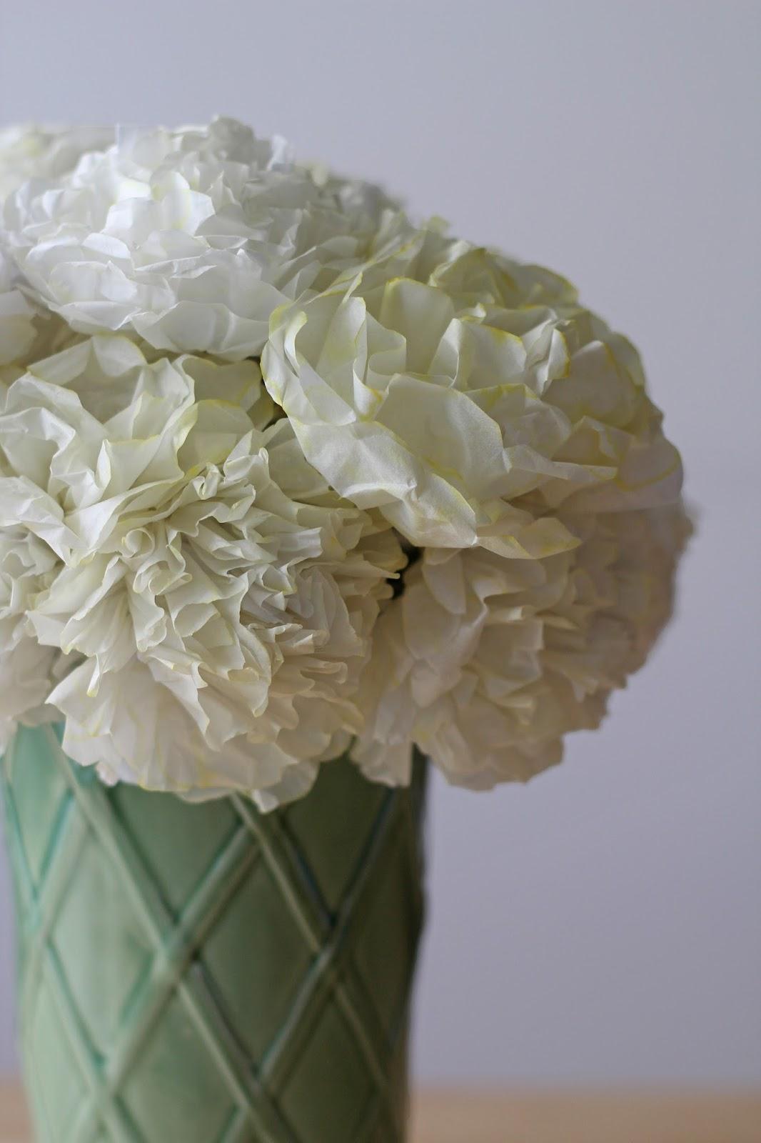diy big flower paper