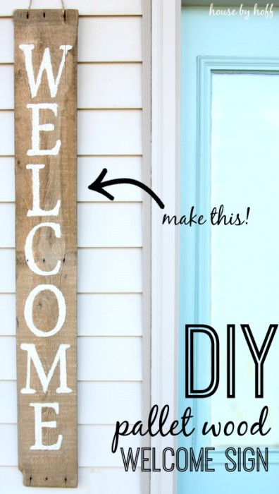 110 DIY Pallet Ideas for Projects That Are Easy to Make and Sell - how to create a sign up sheet