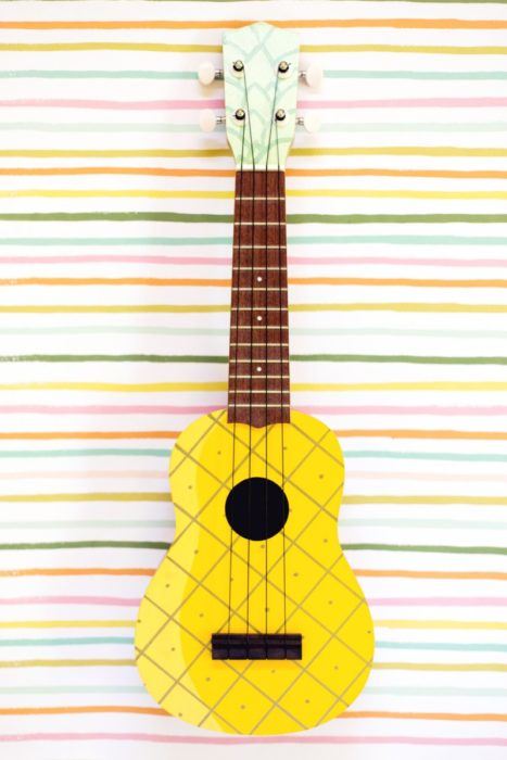 Cute Pineapple Big Wallpapers 25 Cool Diy Guitar Art Projects