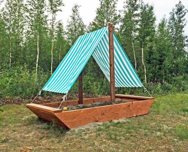 Backyard Sandbox Ideas