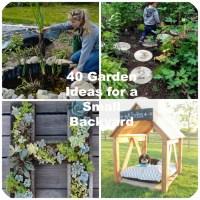 GardenIdeasforaSmallBackyard - BigDIYIdeas.com