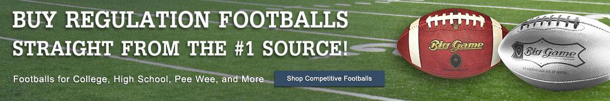 Big Game USA - Official Size Footballs - Big Game USA