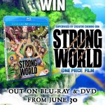Win The Anime One Piece Movie: Strong World On DVD & Blu-ray!