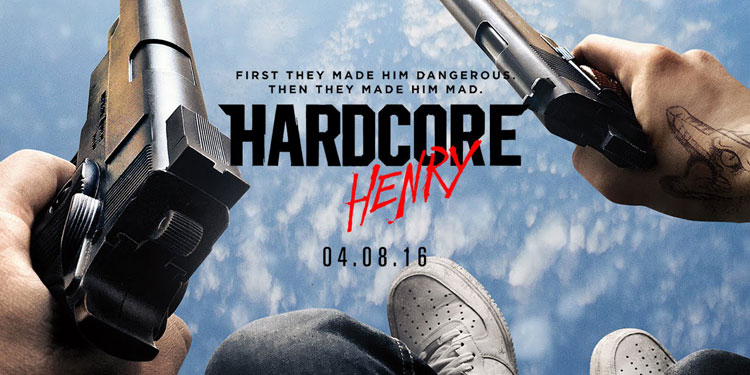 Hardcore Henry Trailer – Action cinema goes completely first person shooter