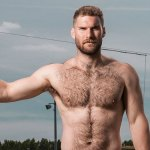Apropos Of Nothing: British Canoeist Matthew James Lister May Be The Perfect, Furry, Nearly Naked Guy