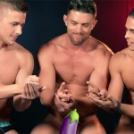 Apropos Of Nothing: Andrew Christian Guys Get Naked Playing Rock, Paper, Scissors