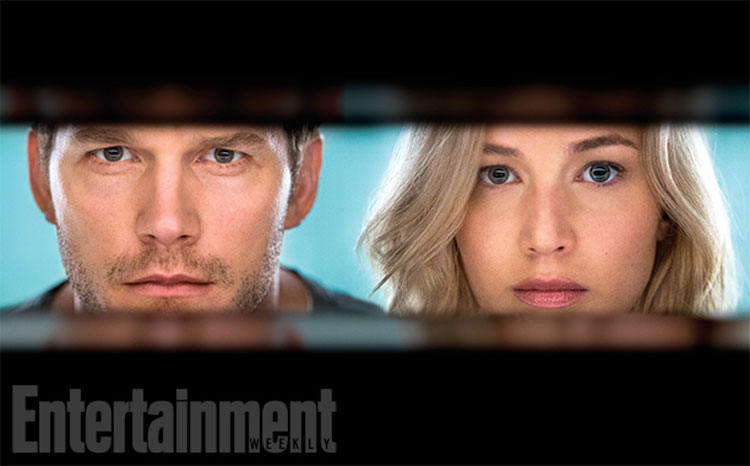Check Out Jennifer Lawrence and Chris Pratt in First 'Passengers' Photos