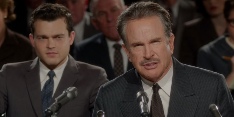 Rules Don't Apply Trailer – Warren Beatty becomes Howard Hughes