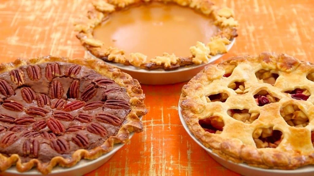 Free Wallpaper Fall Season 3 Homemade Pies Pumpkin Apple Pecan Fudge Gemma S