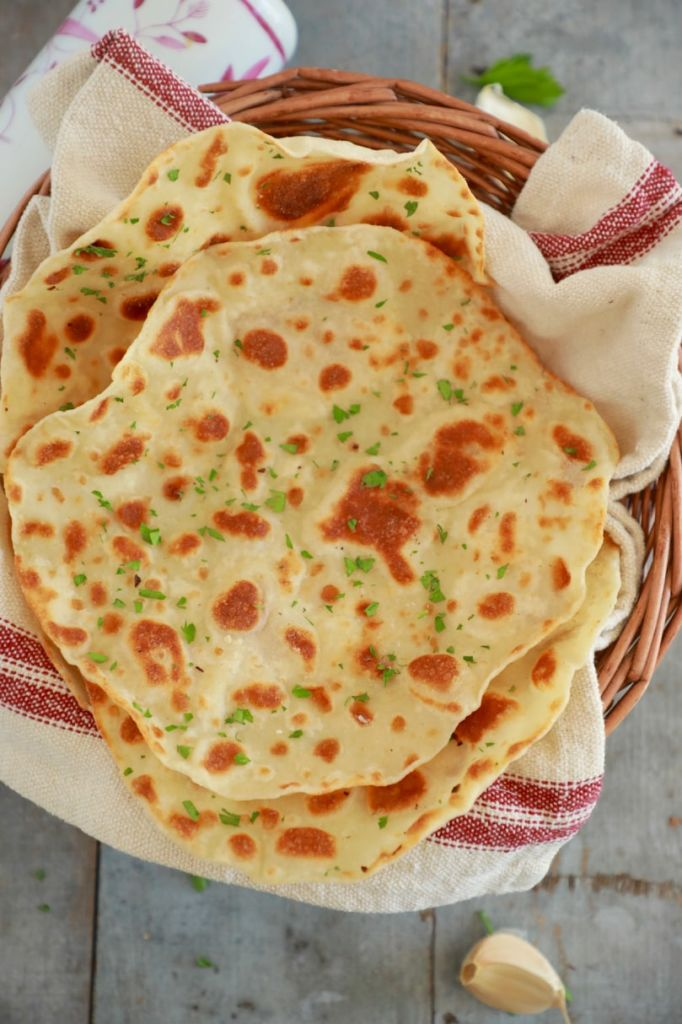 Flatbread Recipe With Only 3 Ingredients (Video) - Gemma\u0027s Bigger