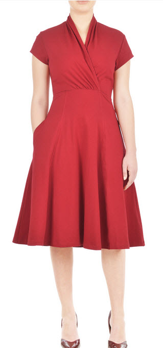 Donna Reed red dress