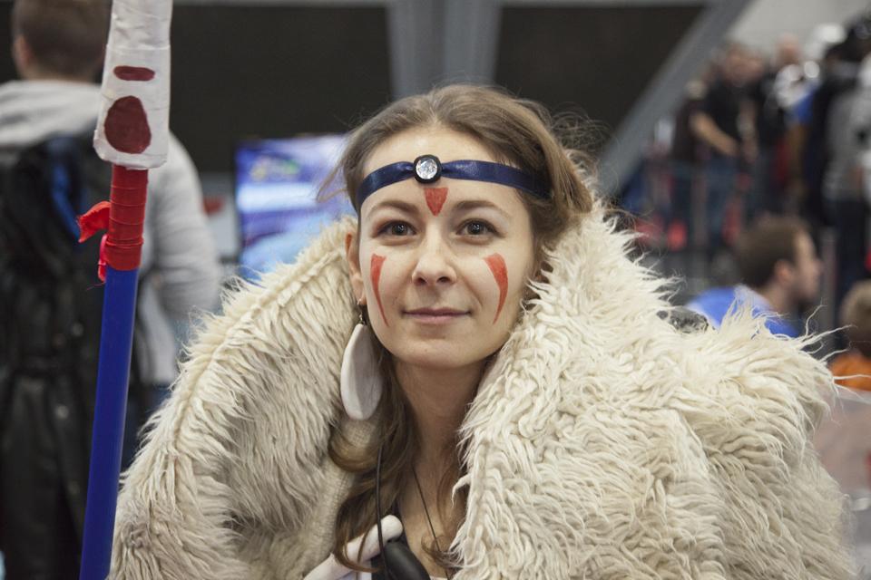 Princess Mononoke: Vienna Comic Con 2015