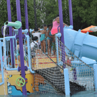 Bellaire Town Square Family Aquatic Center - Visiting Houston's Parks & Pools, One Week at a Time!