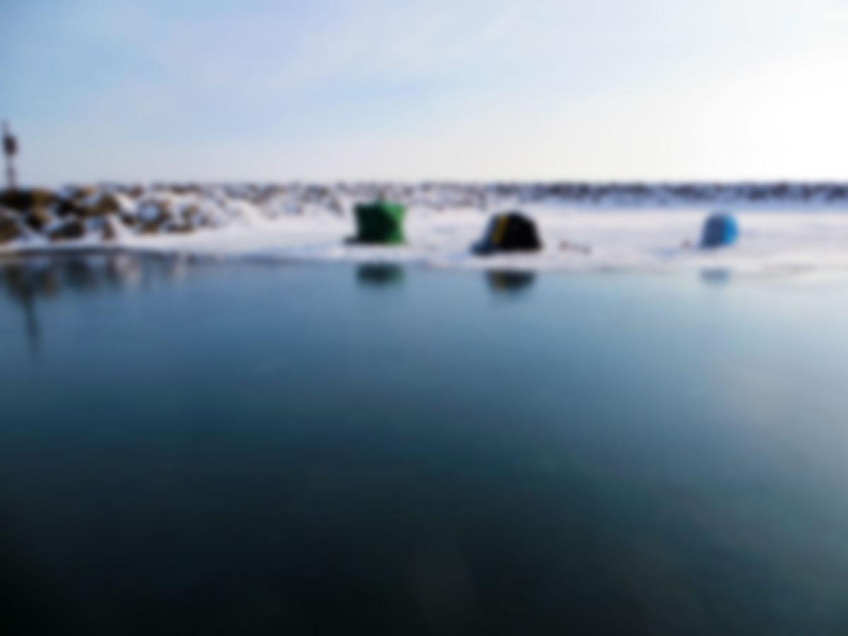 ice-background-blur