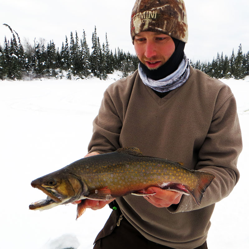 Ice fishing archives big kype for Trout fishing mn