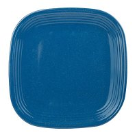 "View 10.5"" Blue Melamine Square Dinner Plate Deals at Big Lots"
