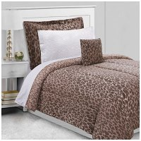 Dan River Twin Ombre Cheetah 6-Piece Bed-In-A-Bag ...
