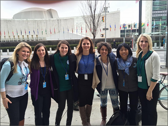 Big Ocean Women 2016 Trip to the United Nations