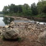 Rock Dam after bog removal