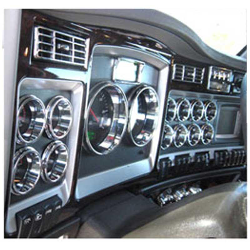 Kenworth Dash Trim Big Rig Chrome Shop - Semi Truck Chrome Shop