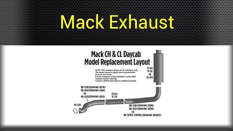 Mack Exterior Parts Big Rig Chrome Shop - Semi Truck Chrome Shop
