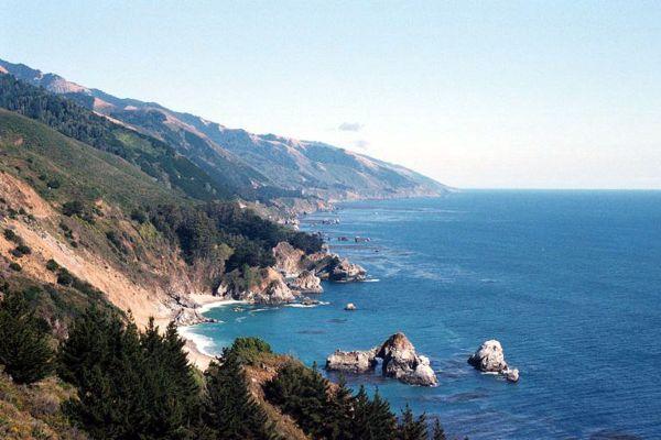 Fall Wallpaper Ocean Gray Whale Watching In Big Sur California