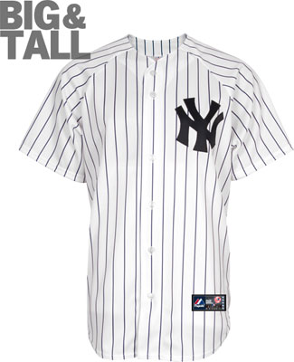big and tall yankees jersey, 3X, 4X, 5X