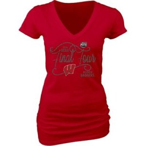 women's wisconsin badgers final four t-shirt, 2014 wisconsin badgers final four t-shirts