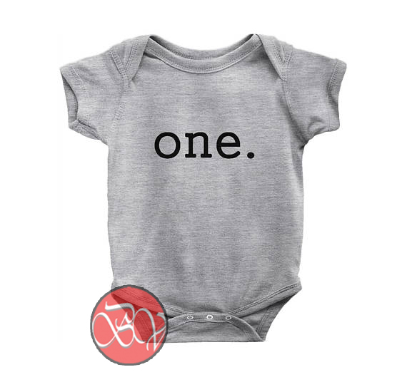 First Birthday Onesies Baby Onesie