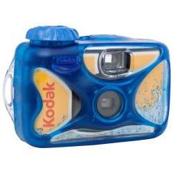Small Crop Of Disposable Digital Camera