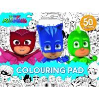 PJ Masks Colouring Pad | BIG W