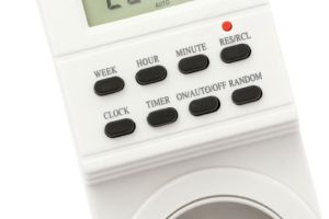 Time Switches: easy automatic way to switch on and off appliances and save electricity