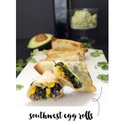 Small Crop Of Southwest Egg Rolls