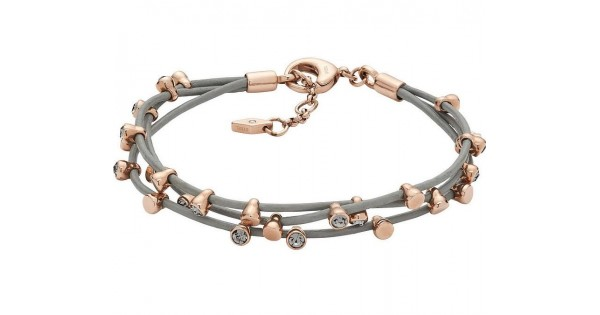 Bracelet Fossil Femme Classics Jf02531791 Bijoux De Mode