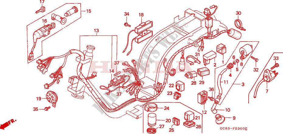Honda Lead Wiring Diagram circuit diagram template