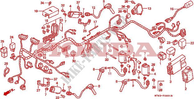 Honda Vfr 750 Wiring Diagram Wiring Diagrams