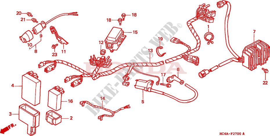 Honda Trx 300 Wiring Diagram Wiring Diagram