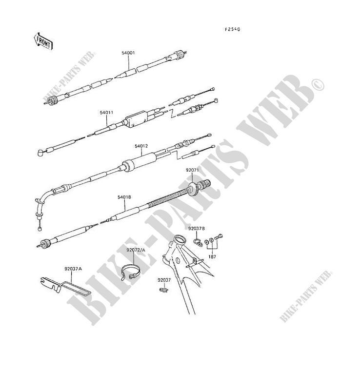 Kawasaki Kl250 Wiring Diagram Kawasaki Kdx 220, Kawasaki Klx125