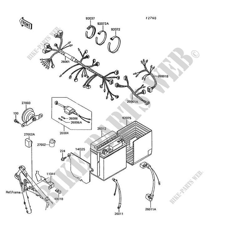 kawasaki klr 600 wiring diagram