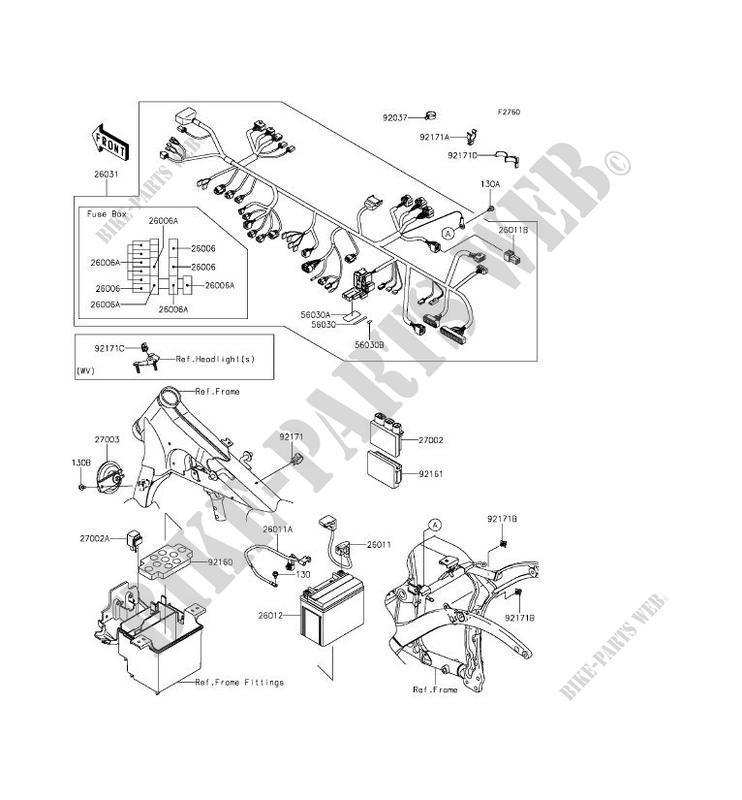 CHASSIS ELECTRICAL EQUIPMENT VN900CCFA VULCAN 900 CUSTOM 2012 900