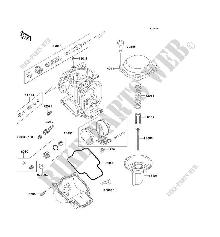98 Kawasaki 300 Bayou Wiring Diagram - Best Place to Find Wiring and